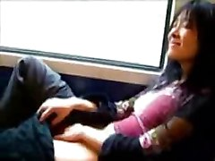 sex on a train with an indian babe