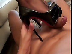 footjob with two girls