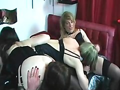 crossdressing anal toy