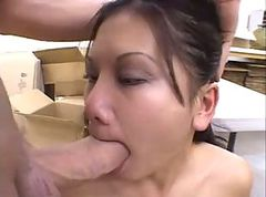 choking gagging facefuck amateur