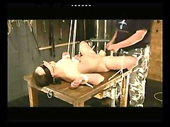 bdsm hard punished crying pussy torture