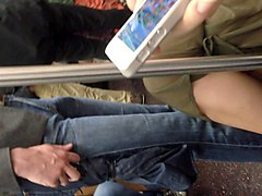 subtitled japanese sex on a train