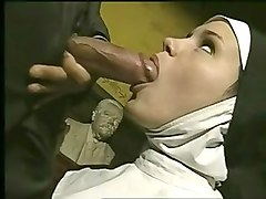 solo nun with cross