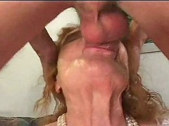 granny hairy creampie doggystyle