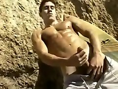 big dick nudist on the beach