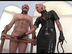 chained male slave