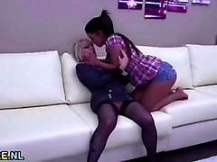 girl ass licking rimming shemale