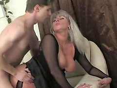 mom caught son watching porn and fucked