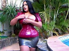 latex mask lesbo
