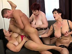 white mature mom has a secret young lover and