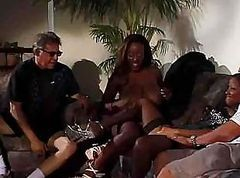 amateur black girl and white guy