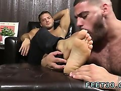 feet massaged