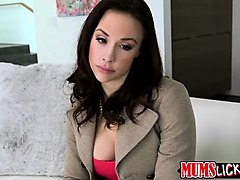 milf babes throat and pussy fucked by lucky guys