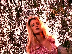 Summer of 69  vintage 80 s slim pert blonde music video