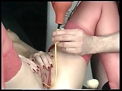 bizarre enema and catheter latex