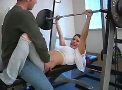 girls in the gym