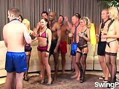 invited to swinger club