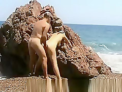 amateur nudist sex on the beach
