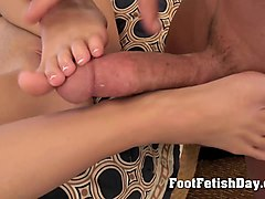 tranny foot domination