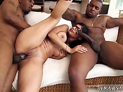 ebony black threesome