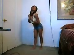dancing ebony amateur