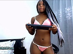 black girl creampied white