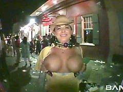 big tits at the club