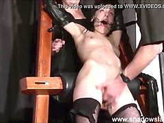 tied elise graves pussy punished and hardcore bdsm of enslaved fetish pornstar t