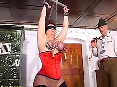 extreme pain ballbusting cbt femdom cuckold
