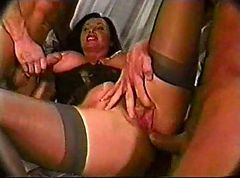 young double anal