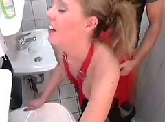 fucked in club toilet