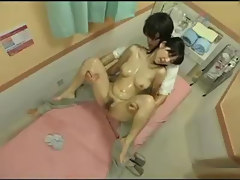 lesbian squirt in massage