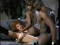 ebony black threesome foot job