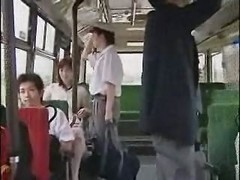 overcrowded bus grope